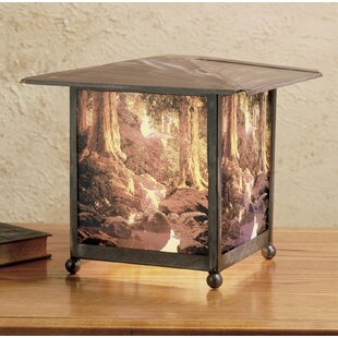 Maxfield Parrish The Glen Lantern 13.5 Table Lamp