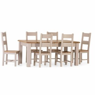 Rochefort Extendable Dining Set With 6 Chairs By August Grove