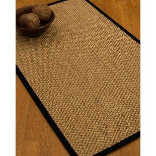 Best Choices Heier Border Hand-Woven Brown/Black Area Rug ByBloomsbury Market