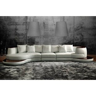 Orren Ellis Cordes Rounded Corner Sectional