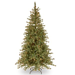 Shenandoah 7.5' Blue Pine Artificial Christmas Tree with 500 Clear Lights