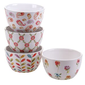 Acanthe 4 Piece Ice Cream Bowl Set