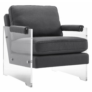 Edi Floating Lucite Armchair by Willa Arlo Interiors