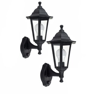 Mcmahan Outdoor Wall Lantern With Motion Sensor (Set Of 2) By Marlow Home Co.
