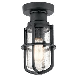 17 Stories Pernilla Outdoor Semi Flush Mount