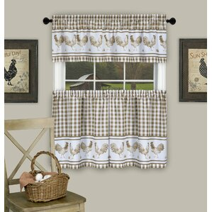 alarica window curtain set