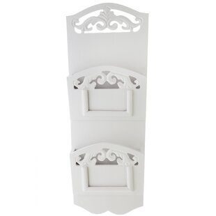 Como Wall Mounted Magazine Holder By Lily Manor