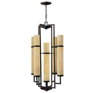 Yosef 10-Light Shaded Chandelier by Bloomsbury Market