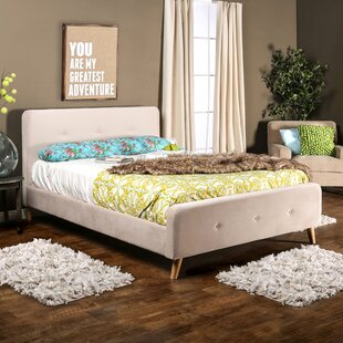 Mica Upholstered Platform Bed