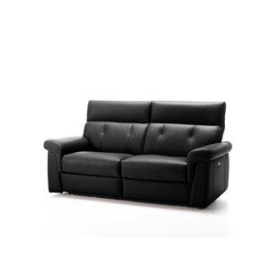 Ditto Genuine Leather Sofa By Ebern Designs