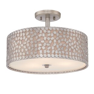 Mercer41 Whitby 3-Light Semi Flush Mount