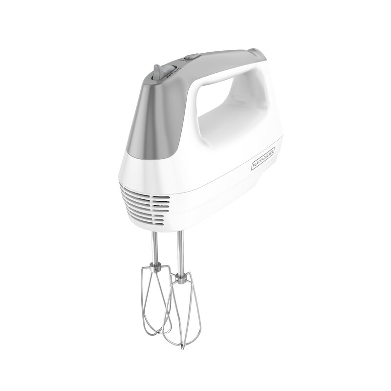 Black Decker 175 Watt Lightweight 5 Speed Hand Mixer Includes Dough Hook Reviews Wayfair