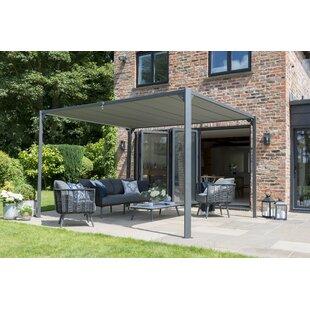 Wert 3m X 3m Aluminium And Steel Patio Gazebo Image