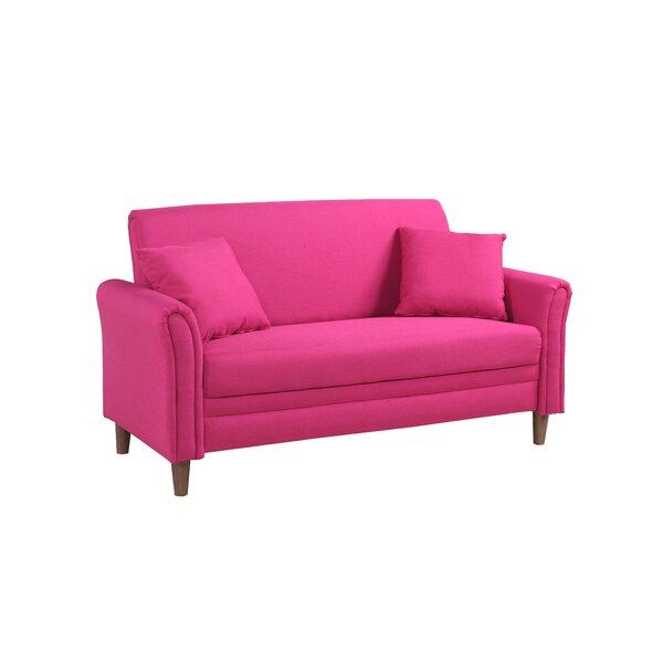 Hot Pink Loveseat | Wayfair