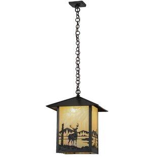 Seneca Deer Creek 1-Light Lantern Pendant by Meyda Tiffany