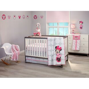 Compare Disney Minnie Mouse Fitted Crib Sheet ByCarter's®