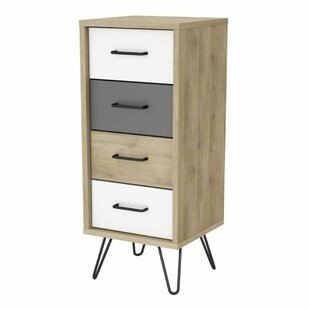 Cardington 4 Drawer Chest By Ebern Designs