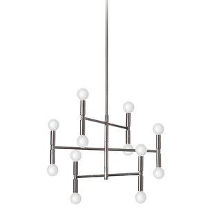 Wrought Studio Severine 12-Light Sputnik Chandelier