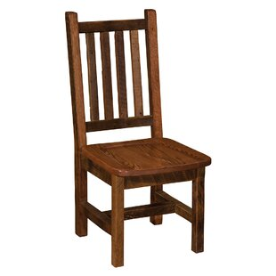 Prairie Solid Wood Dining Chair by Firesi..