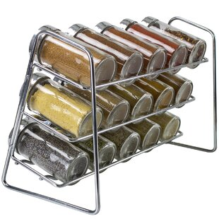 Stand Holder 15 Spice Jar & Rack Set