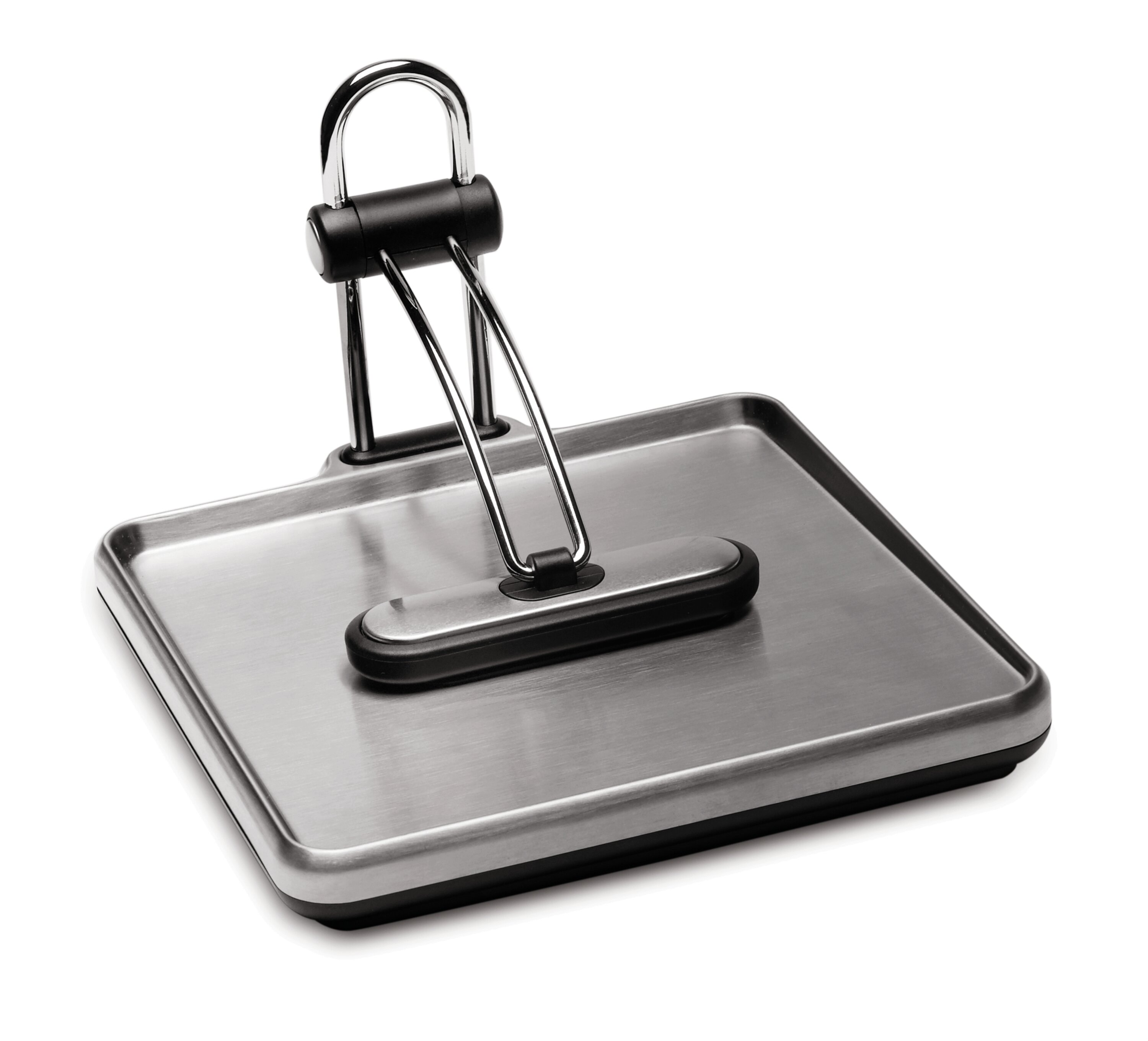 Cuisine Black Metal Party Dinner Picnic Napkin Holder with Weight