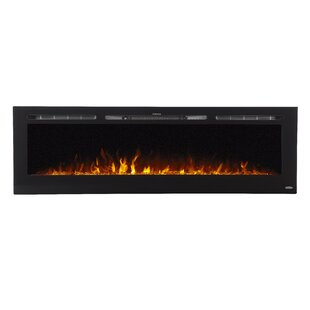 Skoog Recessed Wall Mounted Electric Fireplace by Orren Ellis