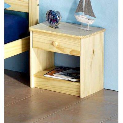 Nachttisch Cranford | Schlafzimmer > Nachttische | Kiefer - Filz | Roomie Kidz