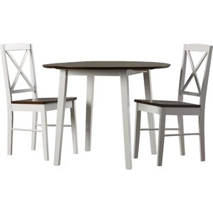 Wiley 3 Piece Dining Set by Andover Mills