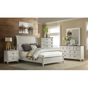 Simmers Sleigh Configurable Bedroom Set