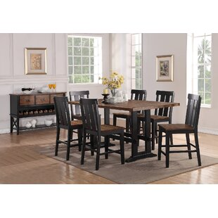 Goodman 7 Piece Counter Height Dining Set Gracie Oaks