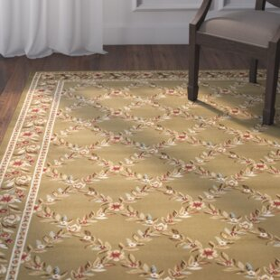 Taufner Green Checked Area Rug by Astoria Grand