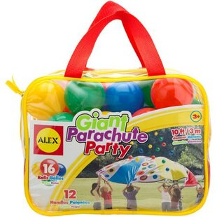 ALEX Toys 17-Piece Giant Parachute Party Set