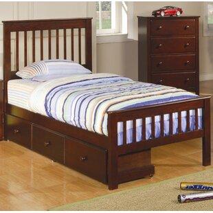 Sevigny Twin Slat 2 Piece Configurable Bedroom Set by Harriet Bee