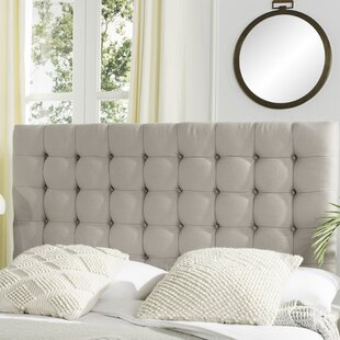 Savings Fitch King Upholstered Panel Headboard by Darby Home Co
