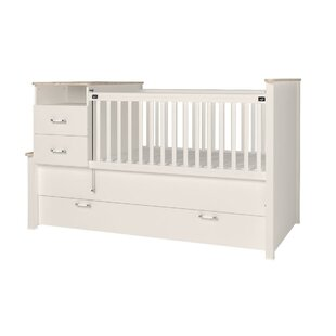 Bayside Baby Extendable Crib and Changer Combo By Harriet Bee