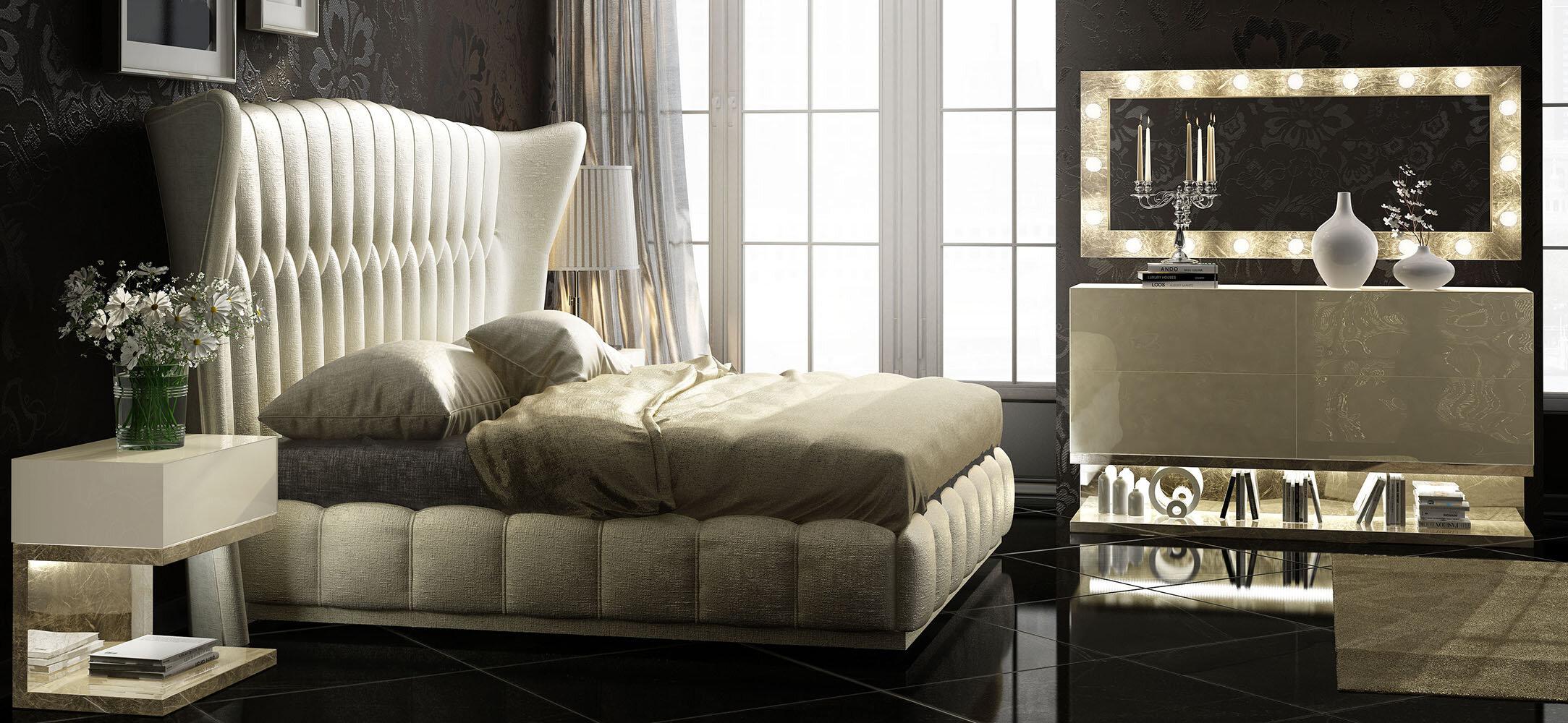 Hispania Home London Bedor43 Bedroom Set 5 Pieces