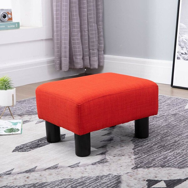 Outstanding Upholstered Small Foot Stools Wayfair Alphanode Cool Chair Designs And Ideas Alphanodeonline