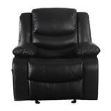 Classic Overstuffed Manual Rocker Recliner by Madison Home USA