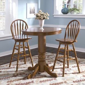 Acadian Pub Table with Optional Stools by..