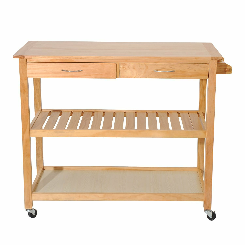 Rupert 3 Tier Kitchen Cart