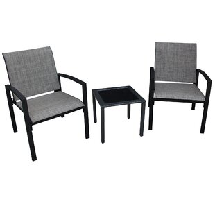 Ebern Designs Campos 3 Piece 2 Person Seating Group
