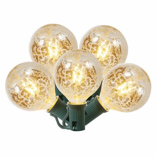 Vickerman 10-Light Globe String Lights