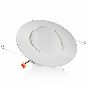 Sunco Lighting 12W Adjustable Gimbal LED Retrofit Downlight