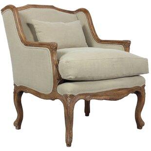 Elliot Armchair by Sarreid Ltd Fresh