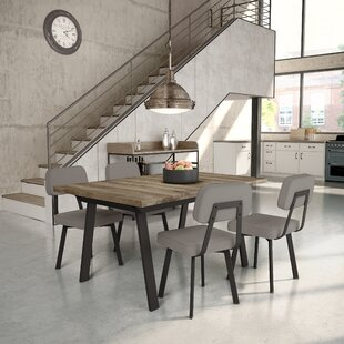 Andrew 5 Piece Extendable Dining Set 17 Stories