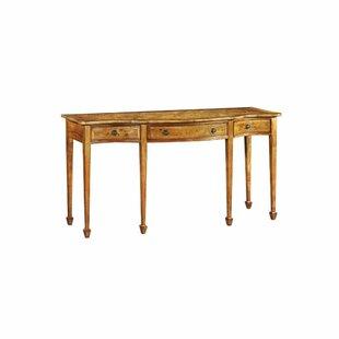 Alasdair Serpentine Console Table By Astoria Grand