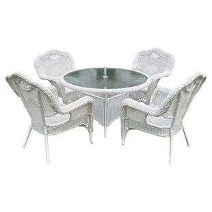 Dominic 5 Piece Patio Dining Set