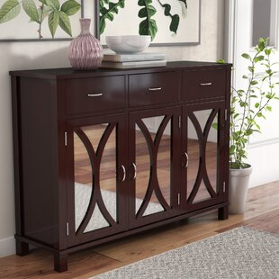Sidell 3 Door Accent Cabinet by Andover Mills