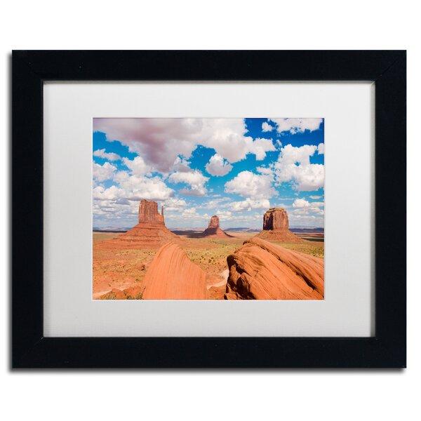 Trademark Art Sandstone Citadel Framed Photographic Print On Canvas Wayfair