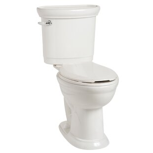 Mansfield Plumbing Products Waverly 1.28 GPF Elongated Two-Piece Toilet